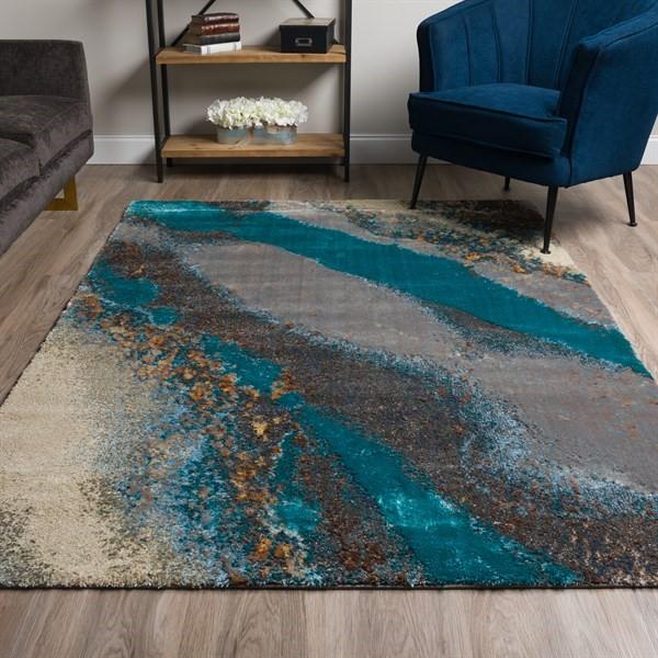 Moonstruck Contemporary / Modern Area Rug