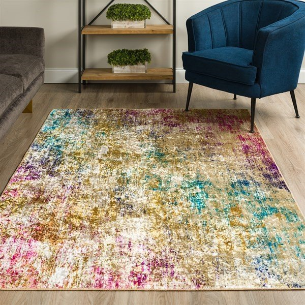 Celebration Abstract Area-Rugs