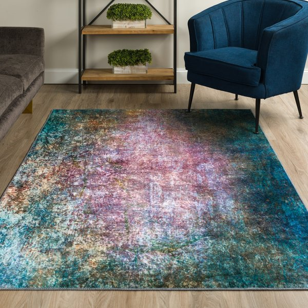 Opal Abstract Area-Rugs