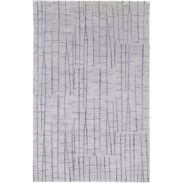 Taupe, Charcoal, Black Contemporary / Modern Area-Rugs