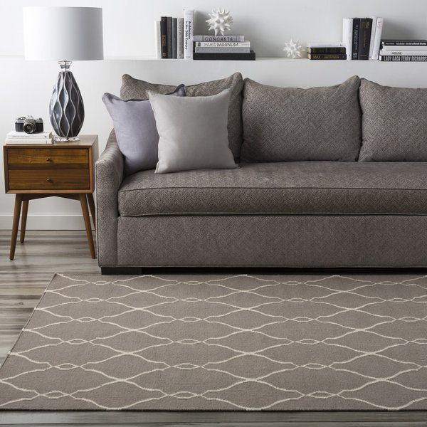 Taupe, Beige (FAL-1003) Contemporary / Modern Area Rug