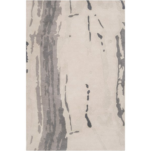 Oyster Gray, Gray, Taupe Contemporary / Modern Area-Rugs