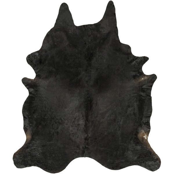 Black, Dark Brown (DUK-1004) Animals / Animal Skins Area Rug