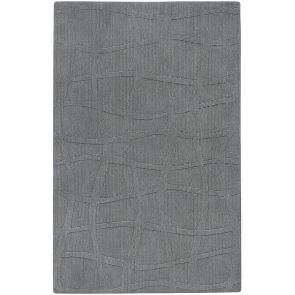 Gray Solid Area Rug