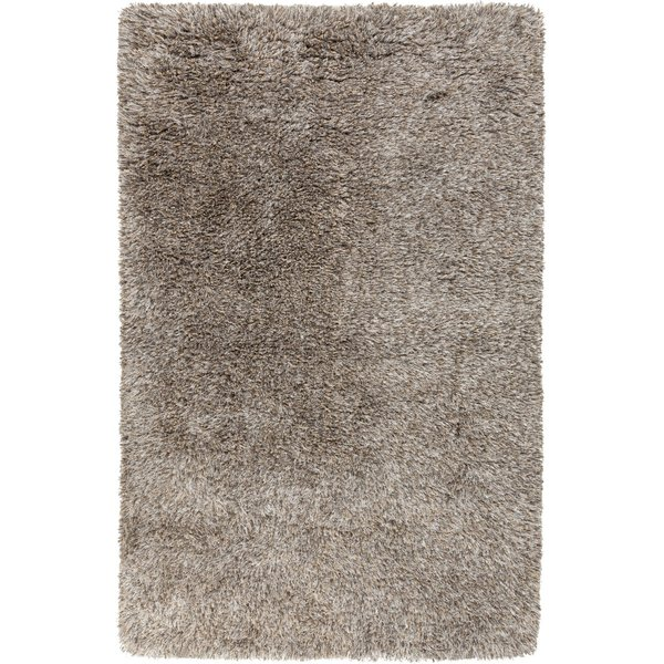 Charcoal, Camel, Beige (MIL-5002) Solid Area-Rugs