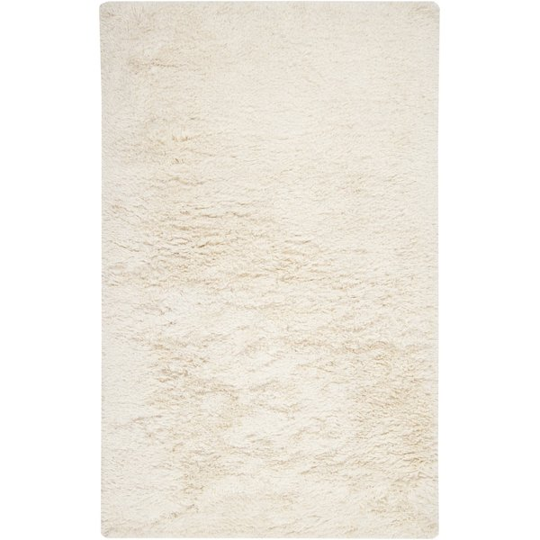 Ivory, White (MIL-5003) Solid Area Rug