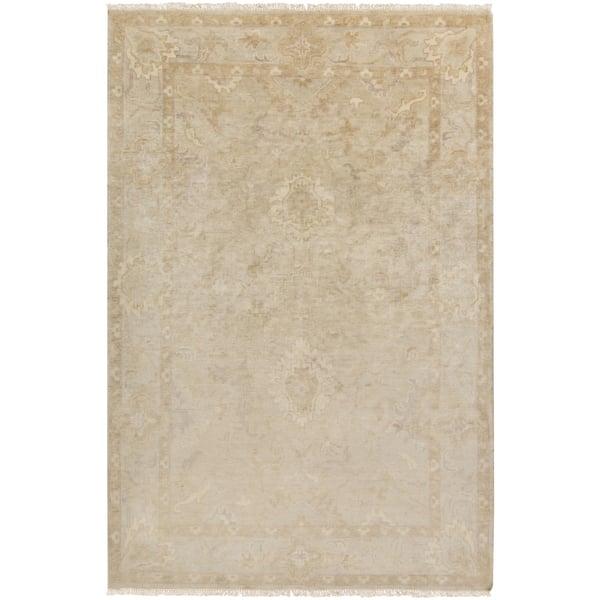 Antique White, Fog, Oxford Tan Vintage / Overdyed Area Rug
