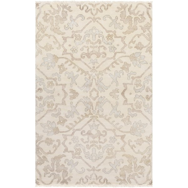 Light Grey, Camel, Taupe Traditional / Oriental Area-Rugs