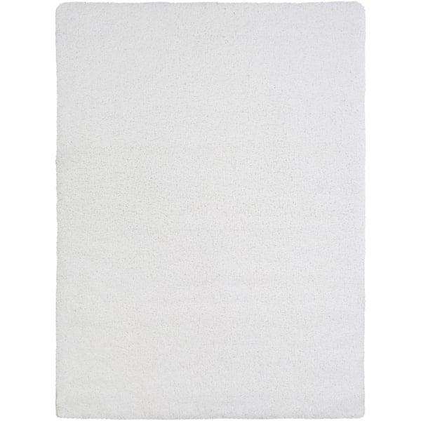 White (GYS-4500) Shag Area-Rugs