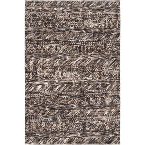 Black, Light Grey, Camel, Beige (3701) Contemporary / Modern Area Rug
