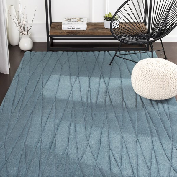 Teal (ETC-4995) Geometric Area Rug