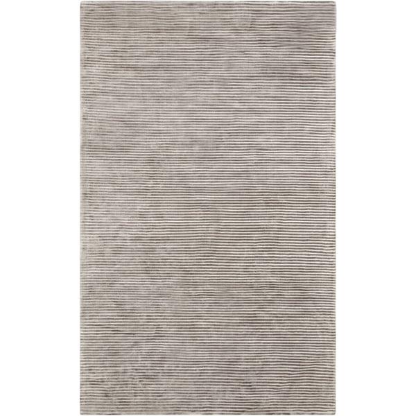 Medium Gray (GPH-53) Striped Area-Rugs