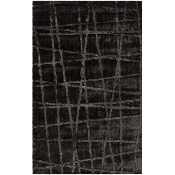 Pewter, Dove Gray Contemporary / Modern Area-Rugs