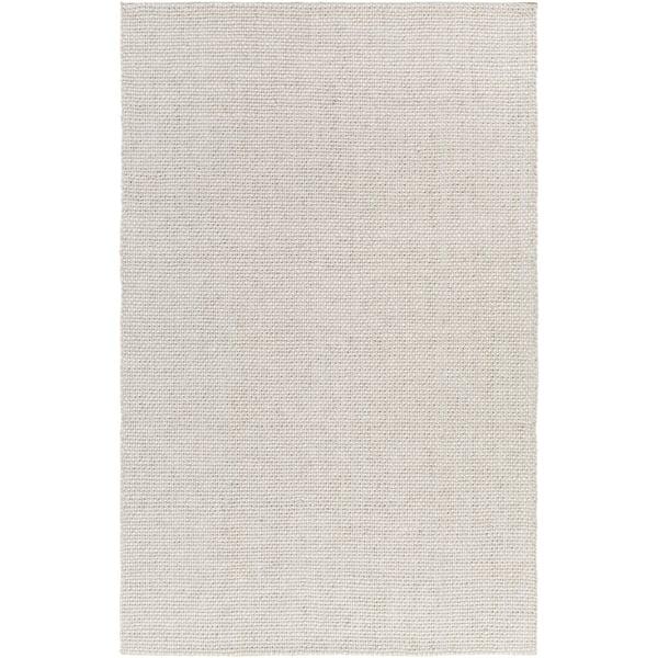 Light Grey, White (SLO-14) Contemporary / Modern Area-Rugs