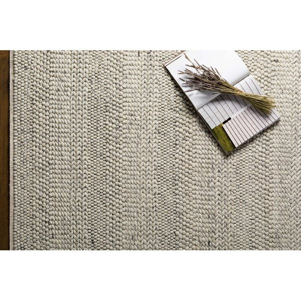 Cream, Light Grey, Charcoal (TAH-3709) Contemporary / Modern Area Rug