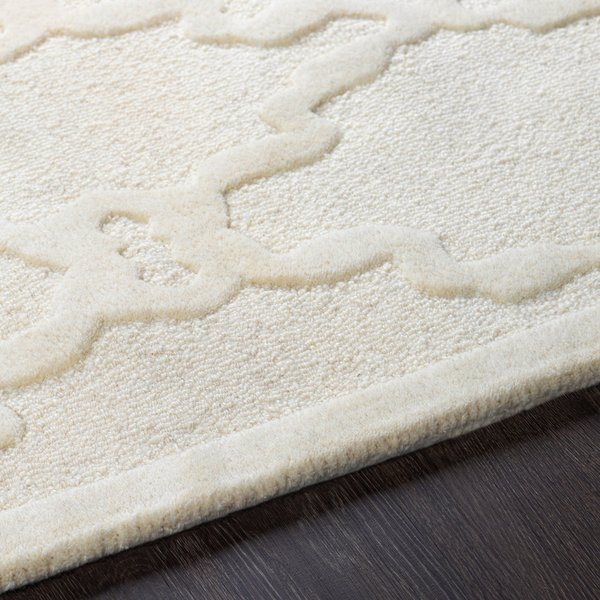 Ivory (CHA-4000) Solid Area Rug