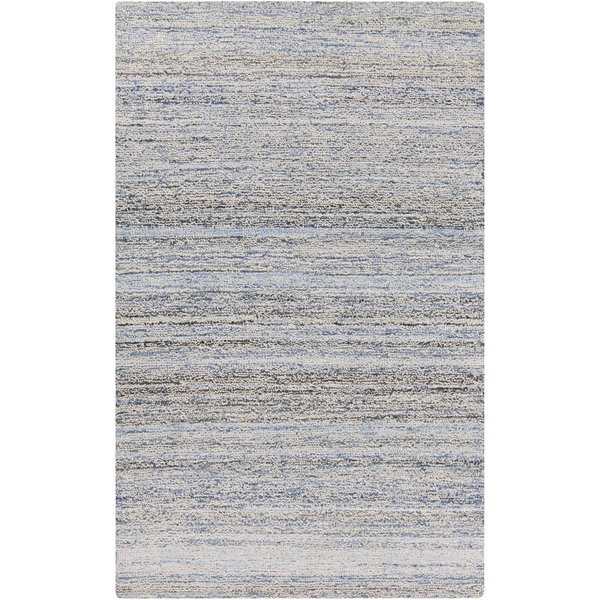 Sky Blue, Cobalt, Navy, Beige (ZOL-3000) Contemporary / Modern Area Rug