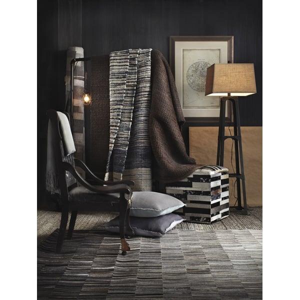 Light Gray, Gray, Taupe Abstract Area Rug