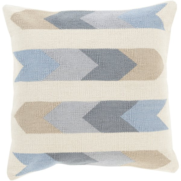 Beige, Charcoal, Light Gray, Slate (CK-011) Southwestern pillow