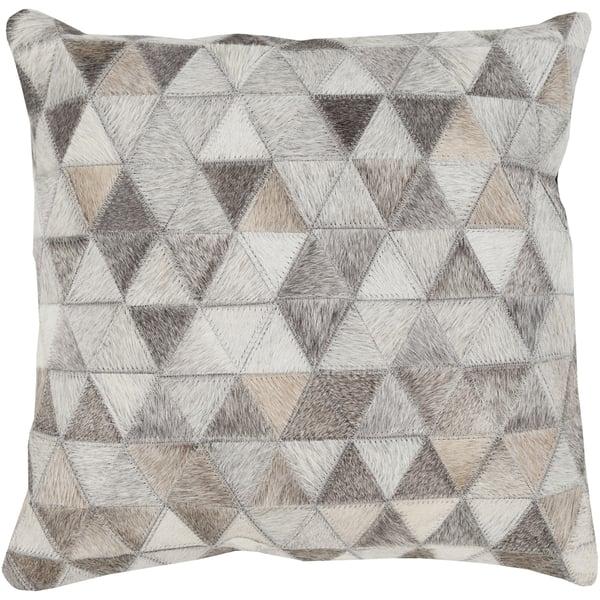 Beige, Light Gray, Ivory (TR-004) Geometric Pillow