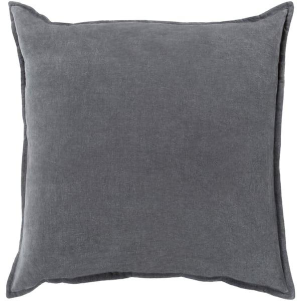 Charcoal (CV-003) Solid pillow