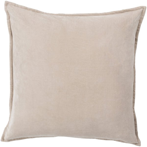 Taupe (CV-005) Solid pillow