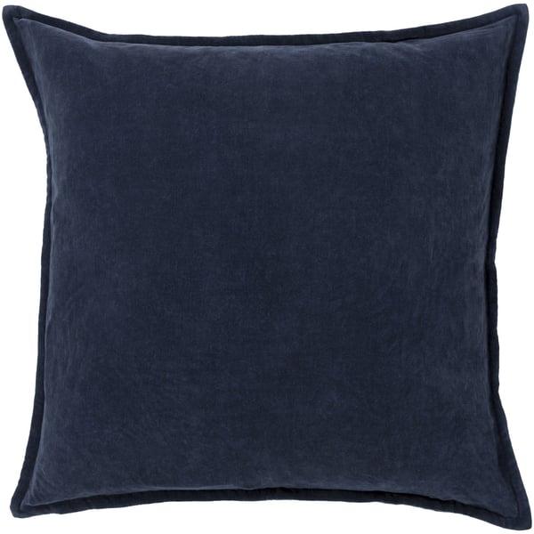 Charcoal (CV-009) Solid pillow