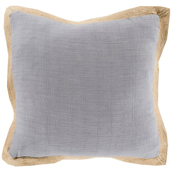 Gray, Mocha (JF-003) Solid pillow