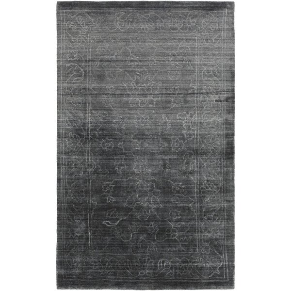 Charcoal, Light Grey (HTW-3002) Traditional / Oriental Area-Rugs