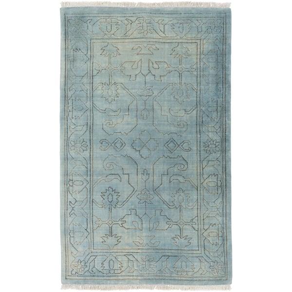 Slate, Light Gray, Moss (WLG-9000) Traditional / Oriental Area Rug