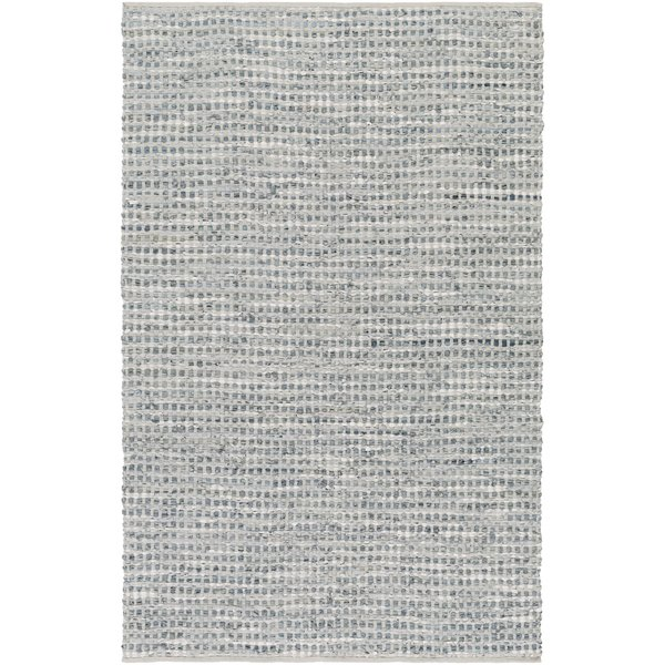 Teal, Pale blue (JMI-8001) Contemporary / Modern Area Rug