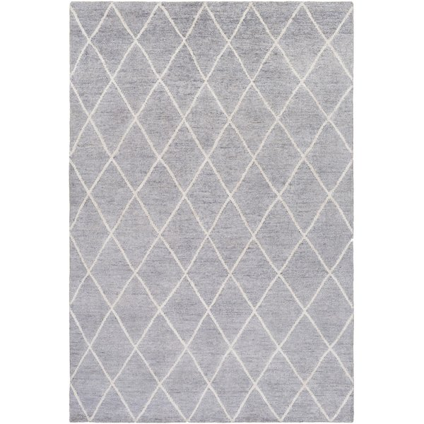 Gray, Ivory (JAQ-4001) Contemporary / Modern Area Rug