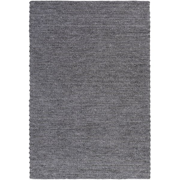 Charcoal (KDD-3002) Solid Area Rug