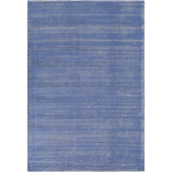 Sky Blue, Cream (PGU-4000) Contemporary / Modern Area Rug