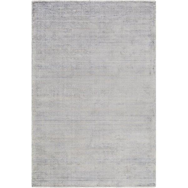 Medium Gray, Khaki (PGU-4003) Contemporary / Modern Area Rug