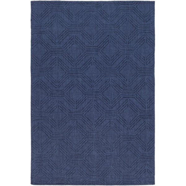 Navy (ASL-1009) Solid Area Rug