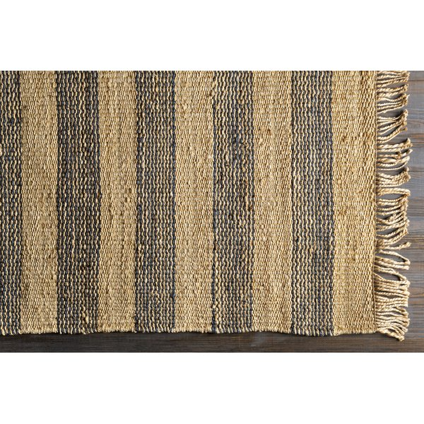Cream, Navy, Khaki (DVN-2006) Striped Area-Rugs