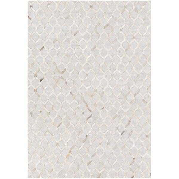 Camel, Cream, Light Gray, Khaki (MOD-1005) Animals / Animal Skins Area Rug