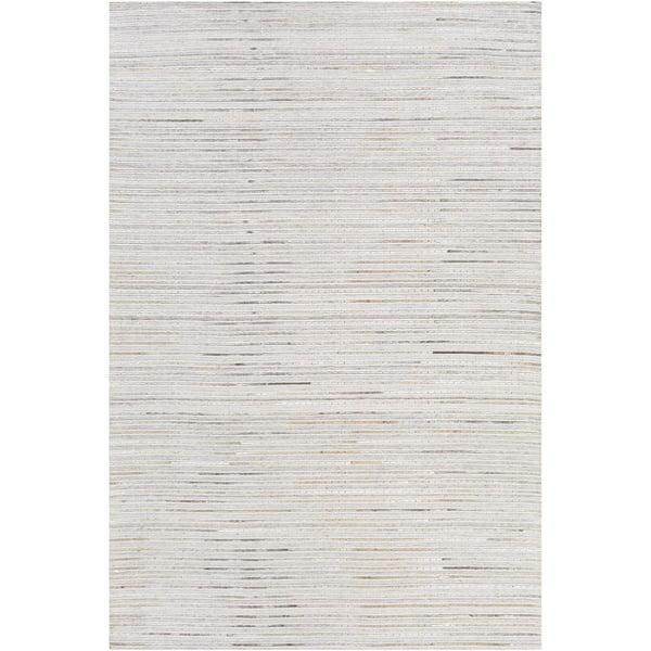 Light Grey, Dark Brown, Ivory (MOD-1024) Contemporary / Modern Area Rug