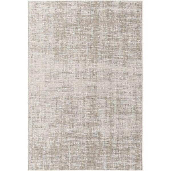 Camel, Medium Gray, Taupe, Cream (STZ-6012) Contemporary / Modern Area Rug