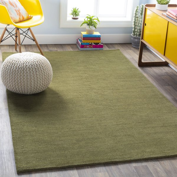 Grass (M-329) Solid Area-Rugs