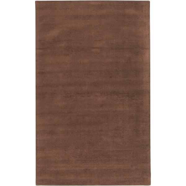 Dark Brown (M-334) Solid Area Rug