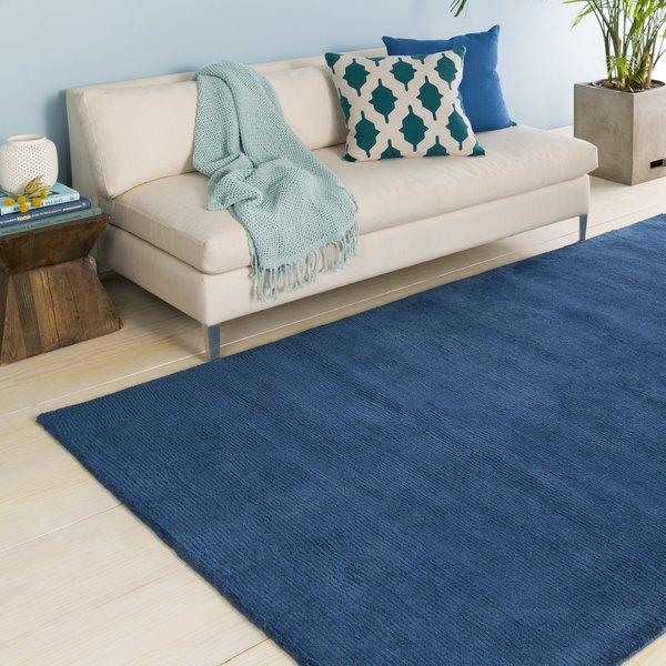Dark Blue (M-330) Solid Area Rug