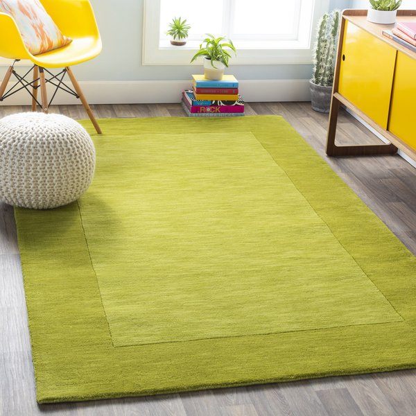 Lime Green (M-346) Contemporary / Modern Area Rug