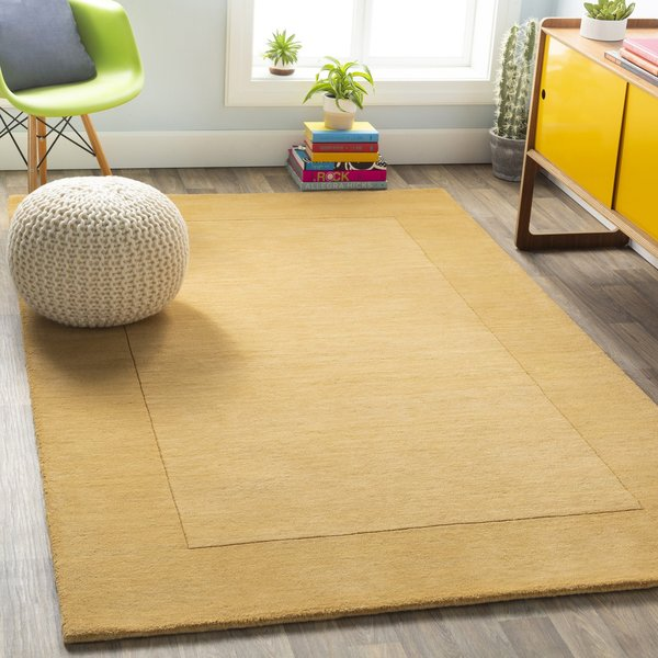 Camel (M-345) Contemporary / Modern Area Rug