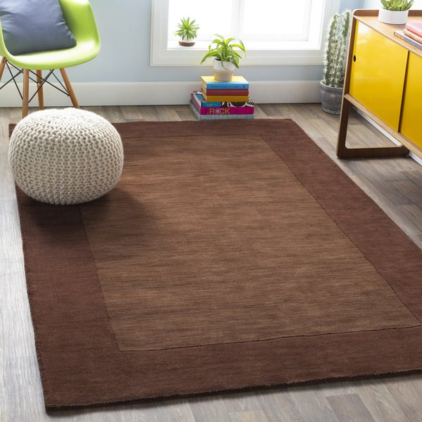 Brown (M-294) Contemporary / Modern Area-Rugs