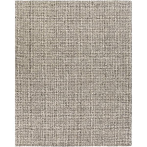 Medium Gray, Khaki (AEN-1005) Solid Area Rug