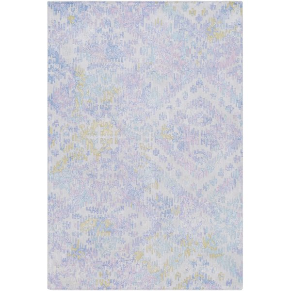 Denim, Bright Blue, Lilac Vintage / Overdyed Area Rug