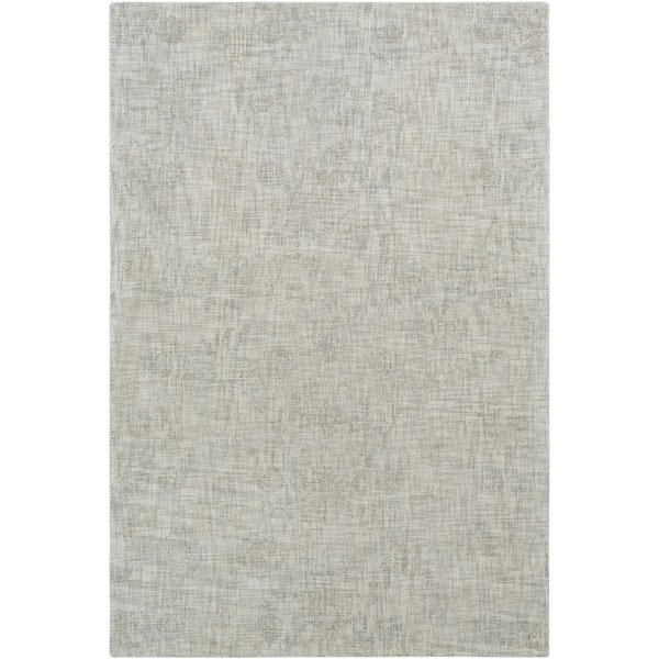 Medium Grey, Cream, Sage, Beige (CIS-1006) Vintage / Overdyed Area Rug