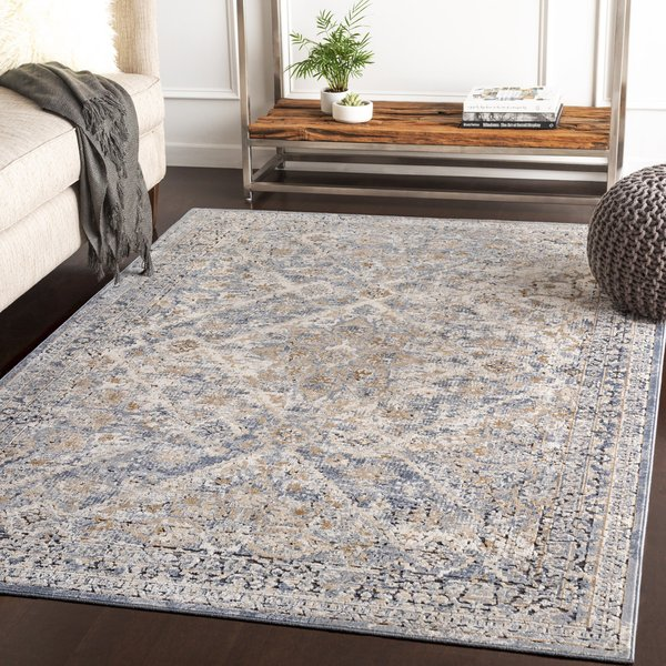 Grey, Camel, Charcoal Vintage / Overdyed Area-Rugs